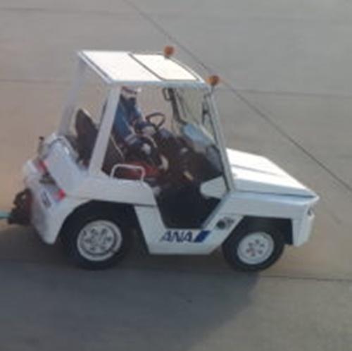 トーイングトラクターの写真