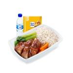 油鶏飯と広東白菜
