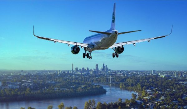 航空機のATBの写真