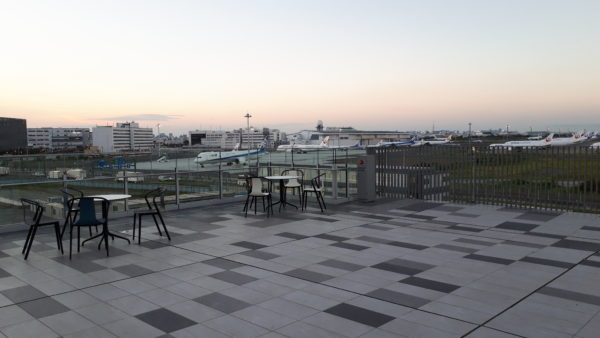 羽田イノベーションシティ 屋上デッキを撮った写真