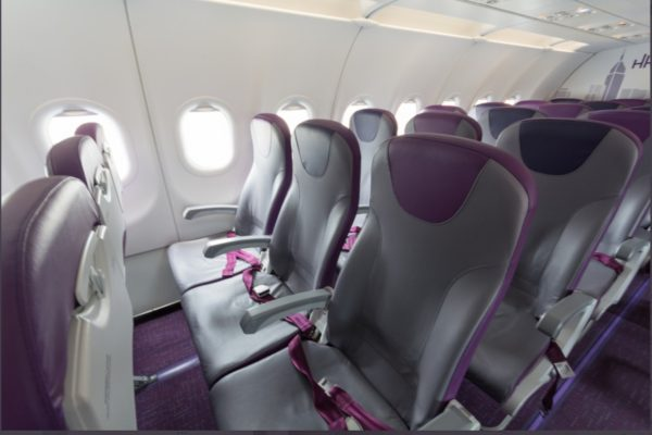 LCC座席の写真