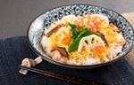 彩鮮やか鮭ご飯のちらし寿司