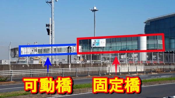 空港のPBB(パッセンジャー・ボーディング・ブリッジ)