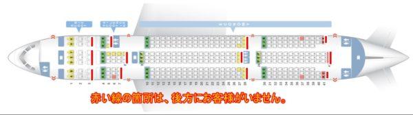 機内座席シート