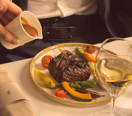 スターラックス ビジネスクラス機内食