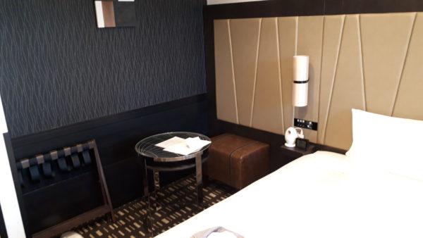 ロイヤルパークホテル羽田8階のプレミアムフロアの客室の様子