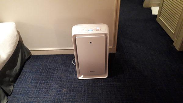 リーガロイヤルホテル 空気加湿清浄機