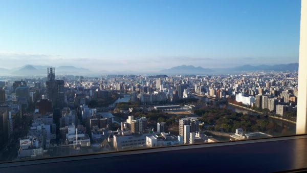 リーガロイヤルホテル広島 エグゼクティブフロア 景色