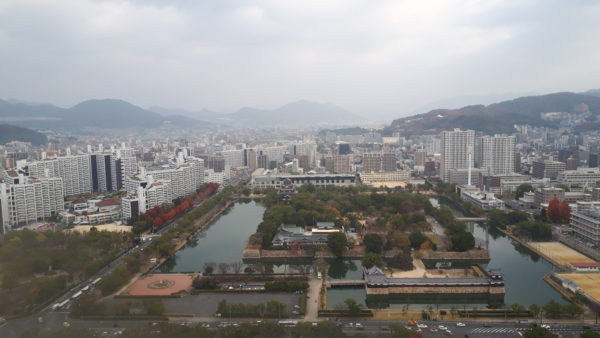 リーガロイヤルホテル広島のエグゼクティブフロアからの絶景