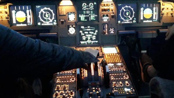 ラグジュアリーフライト 離陸瞬間