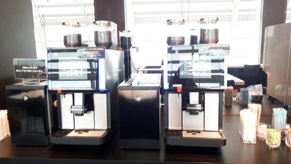 エアポートラウンジ南 コーヒーマシンの写真
