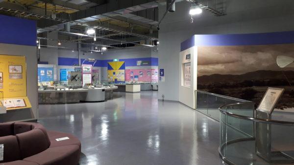 石川県立航空プラザの館内の写真