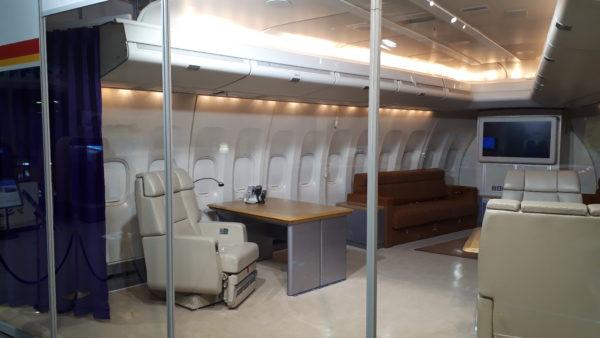 石川県立航空プラザ 政府専用機 貴賓室②の写真