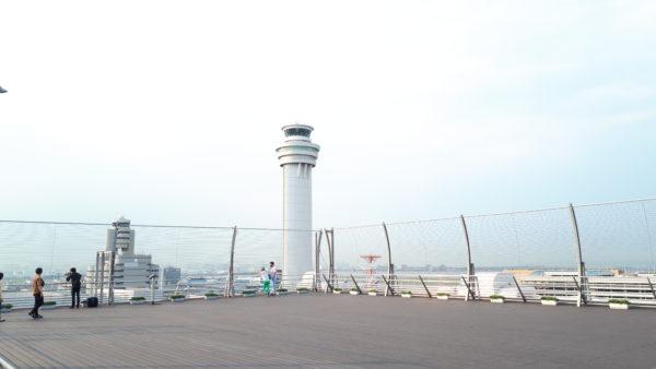 羽田空港 第一ターミナル 屋上デッキ③の写真