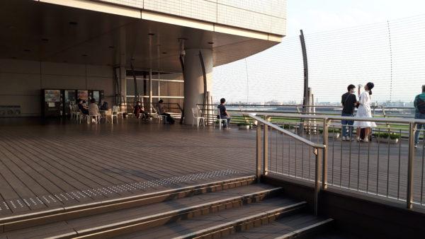 羽田空港 屋上デッキの写真