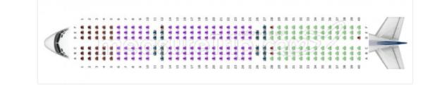 ベトジェット 機内座席の写真