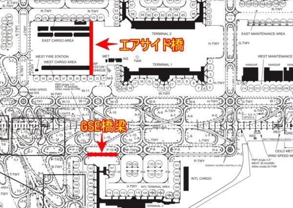 羽田空港 チャートマップ
