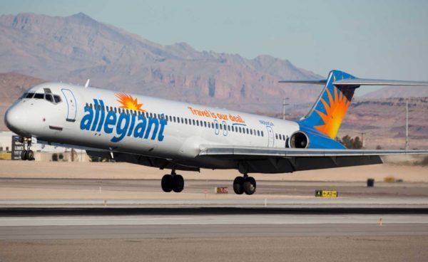 アレジアント航空の写真