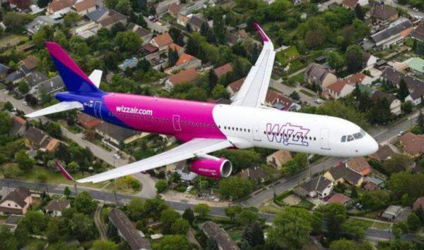 WIZZ航空の写真