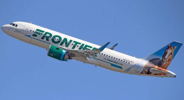 フロンティア航空の写真