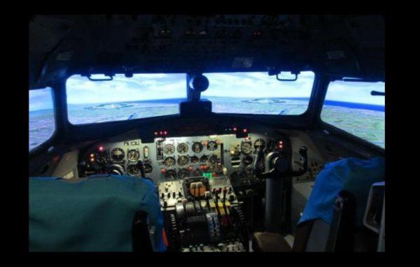 石川県立航空プラザ YS-11シュミレーターの写真